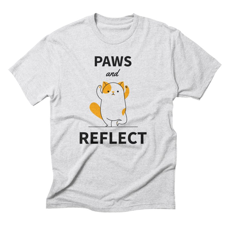 Paws And Reflect Men's Triblend T-Shirt by Purrform