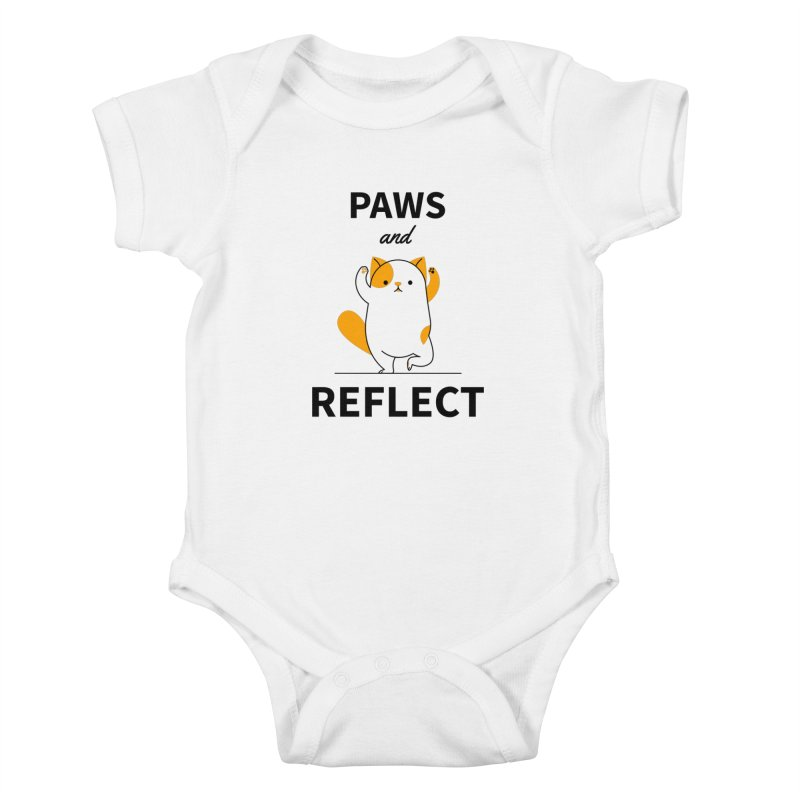 Paws And Reflect Kids Baby Bodysuit by Purrform