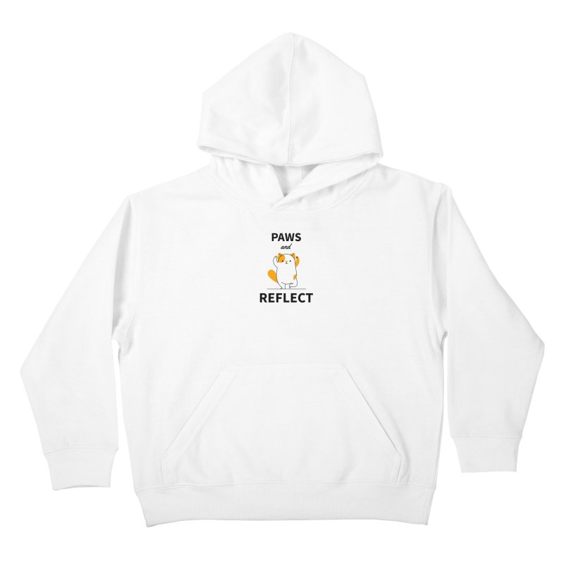 Paws And Reflect Kids Pullover Hoody by Purrform