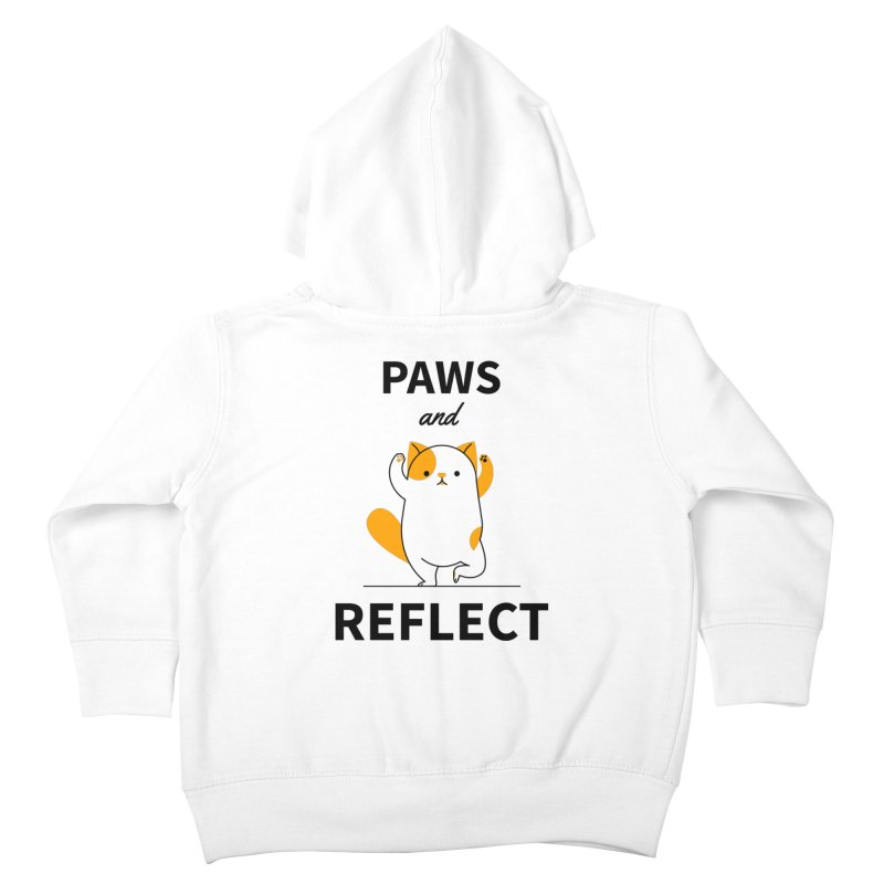 Paws And Reflect Kids Toddler Zip-Up Hoody by Purrform
