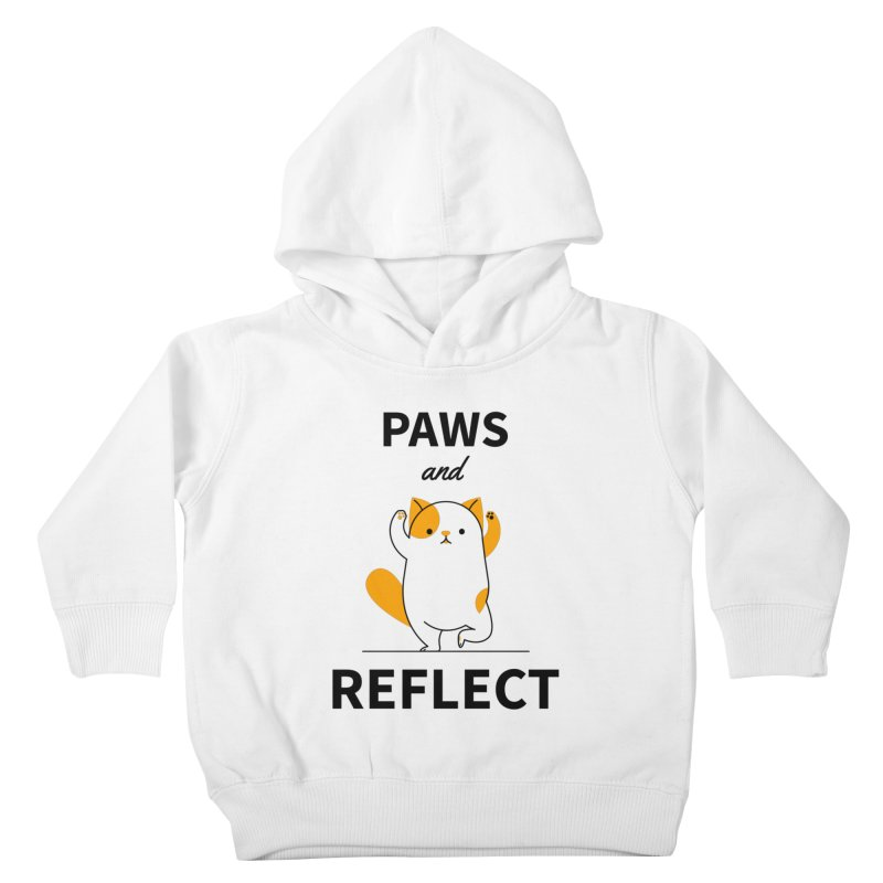 Paws And Reflect Kids Toddler Pullover Hoody by Purrform