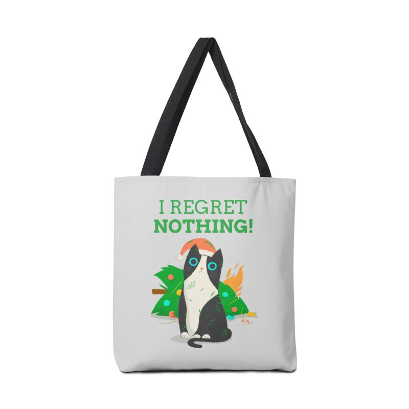 I Regret Nothing Accessories Tote Bag Bag by Purrform