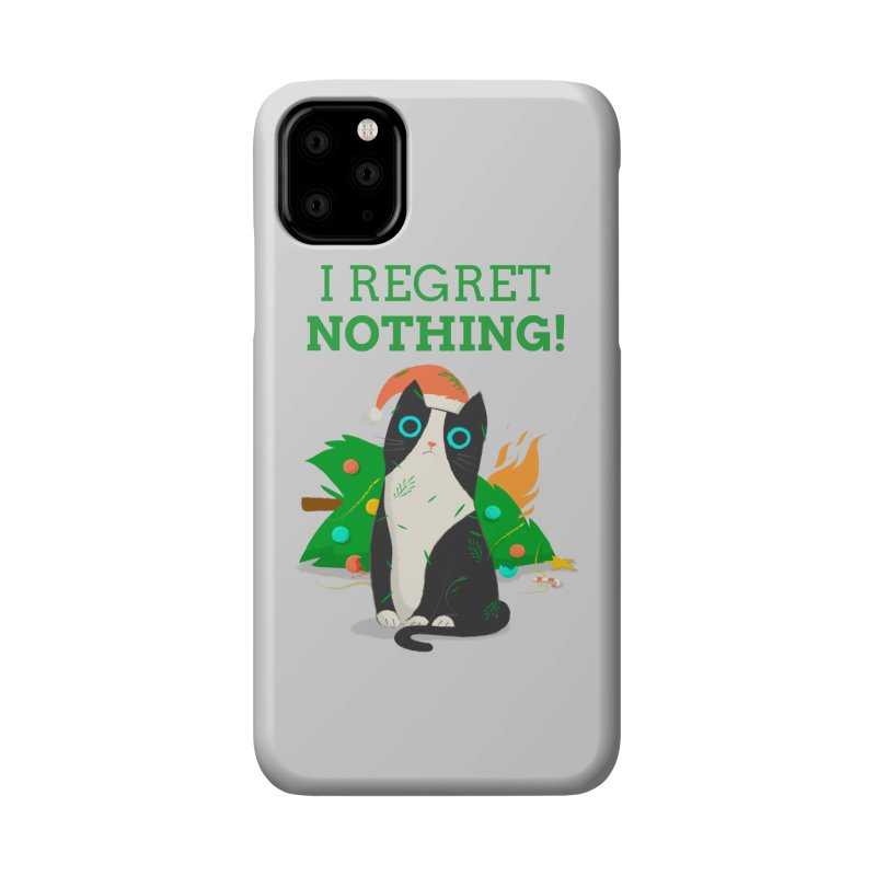 I Regret Nothing Accessories Phone Case by Purrform