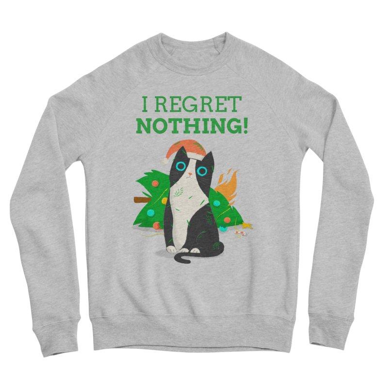 I Regret Nothing Women's Sponge Fleece Sweatshirt by Purrform