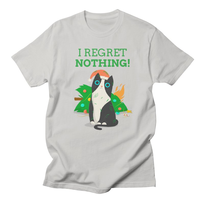 I Regret Nothing Men's T-Shirt by Purrform