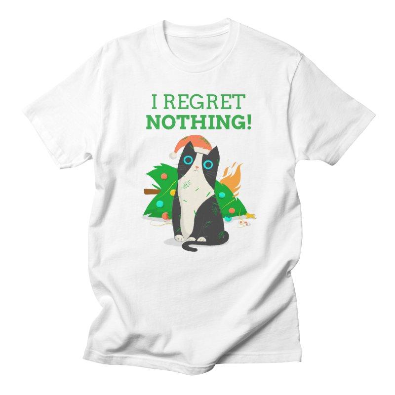 I Regret Nothing Men's Regular T-Shirt by Purrform