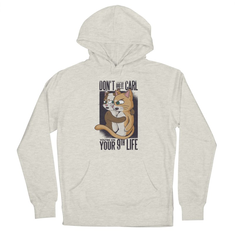 9th Life Men's Pullover Hoody by Purrform