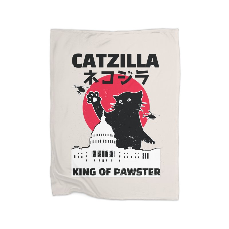 Catzilla Home Decor Blanket by Purrform