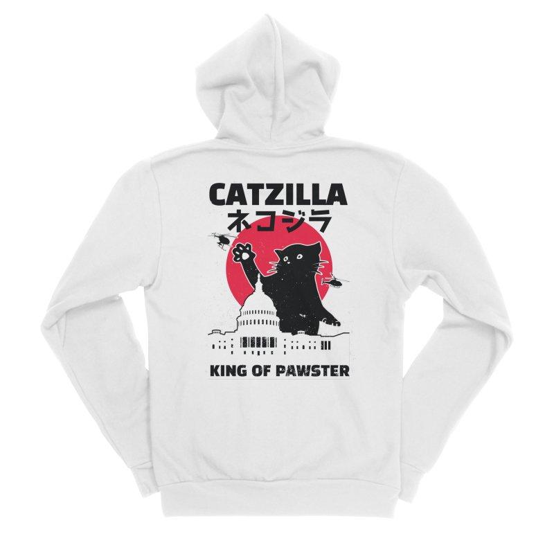 Catzilla Men's Zip-Up Hoody by Purrform