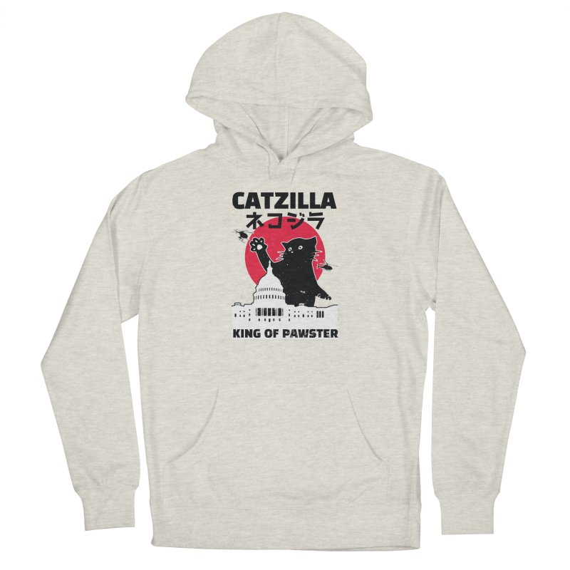 Catzilla Men's Pullover Hoody by Purrform