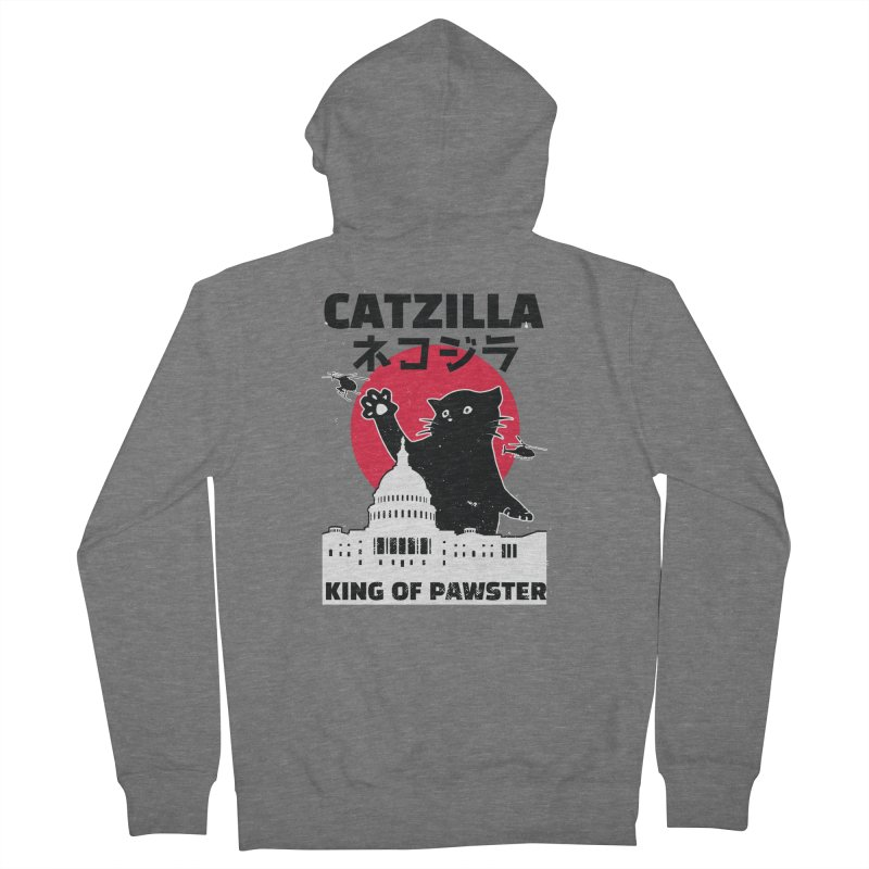 Catzilla Men's Zip-Up Hoody by Purrform
