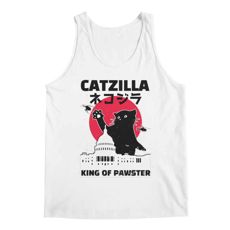 Catzilla Men's Tank by Purrform
