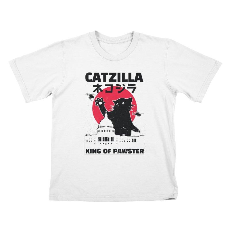 Catzilla Kids T-Shirt by Purrform