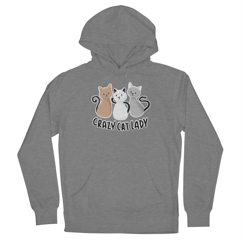 Crazy Cat Lady Women's Pullover Hoody by Purrform