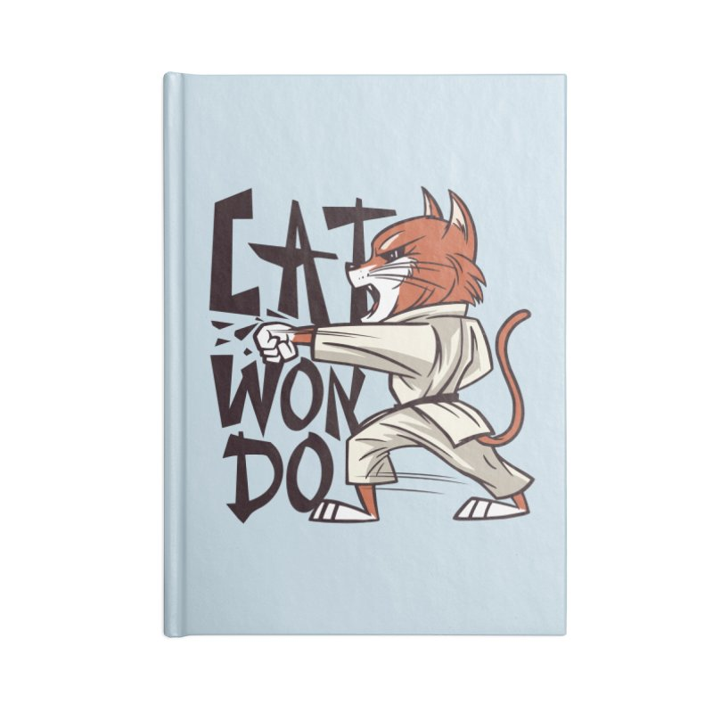 Cat Won Do Accessories Notebook by Purrform