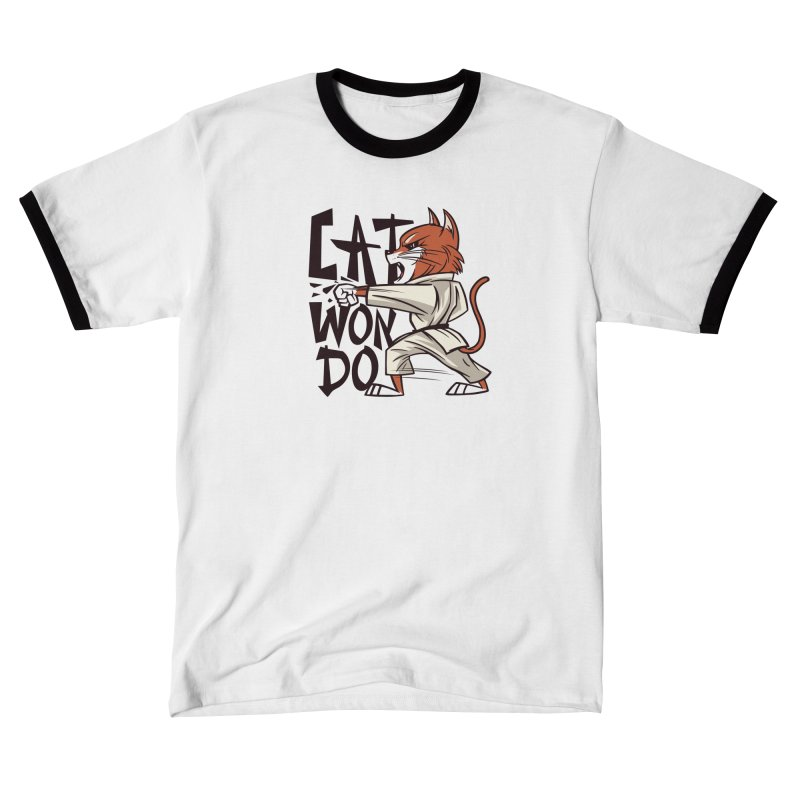 Cat Won Do Men's T-Shirt by Purrform