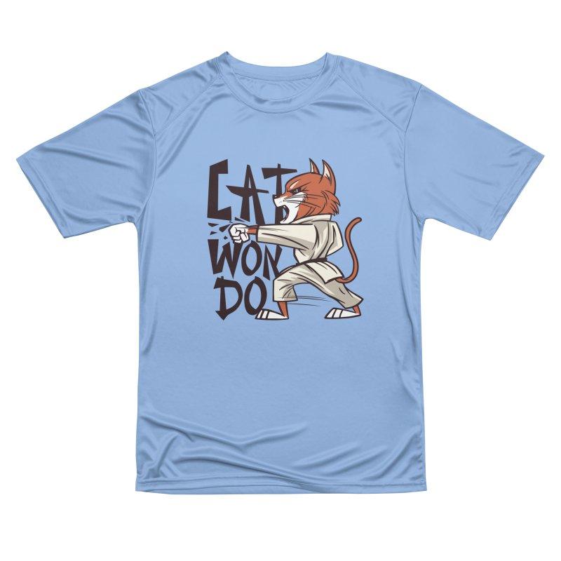 Cat Won Do Men's T-Shirt by Purrform