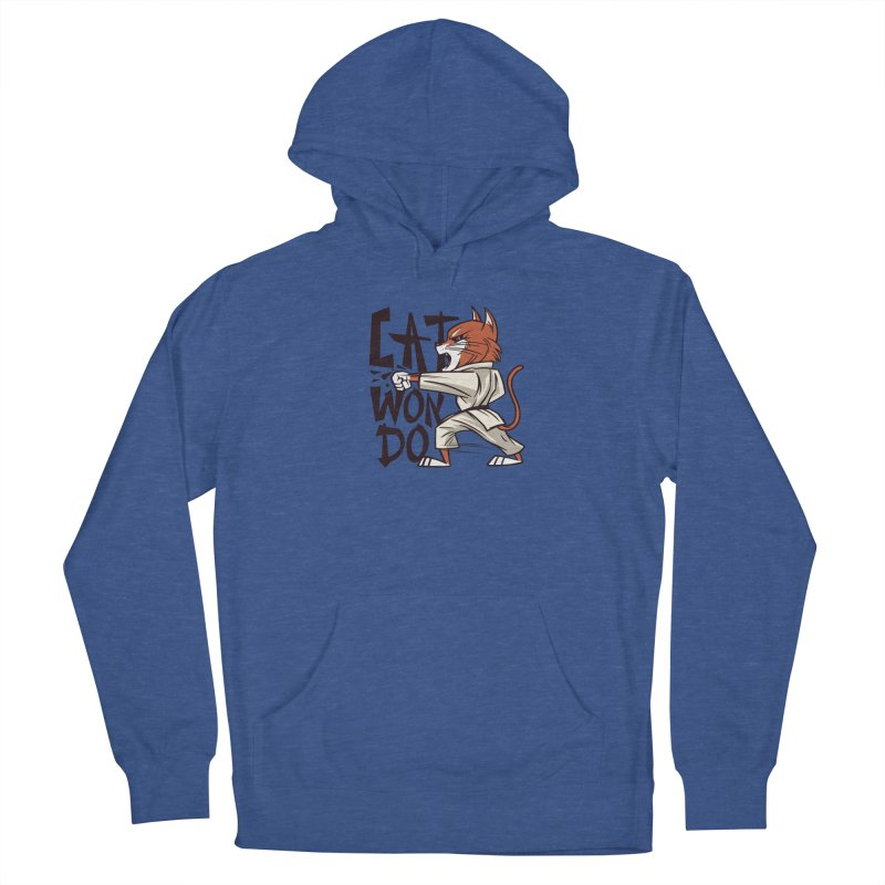 Cat Won Do Men's Pullover Hoody by Purrform