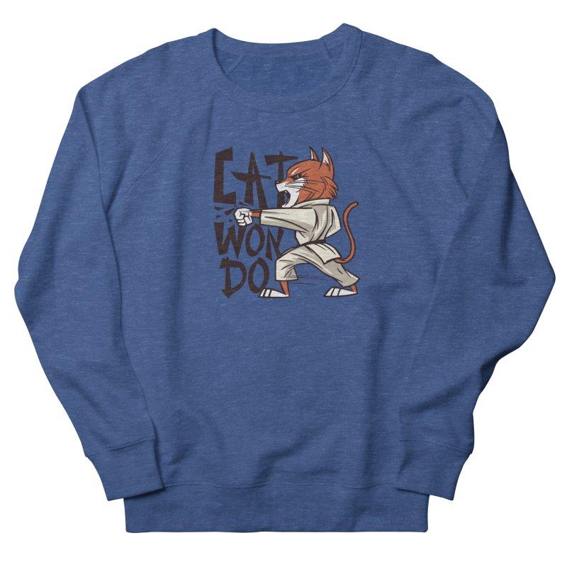 Cat Won Do Men's Sweatshirt by Purrform