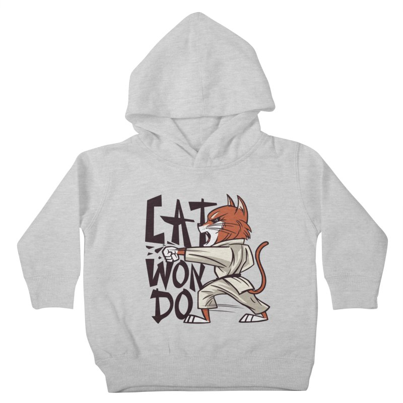 Cat Won Do Kids Toddler Pullover Hoody by Purrform