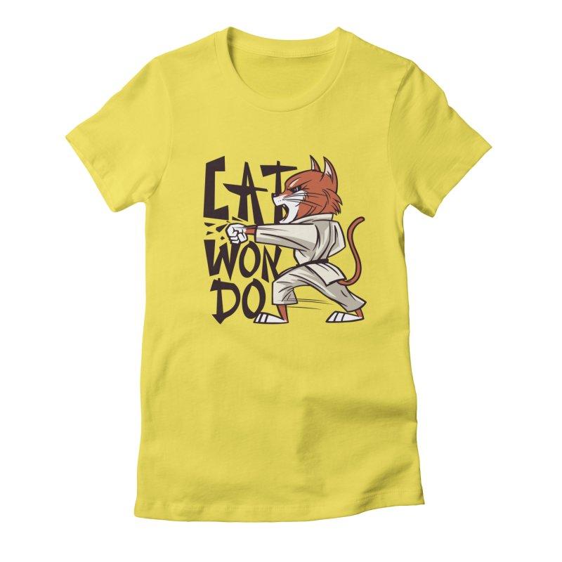 Cat Won Do Women's T-Shirt by Purrform