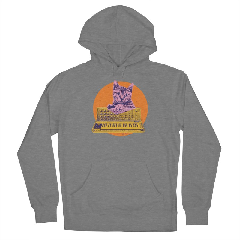 Synthesizer Cat Women's Pullover Hoody by Purrform