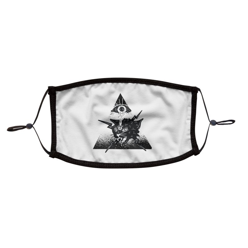 The All Seeing Cat Accessories Face Mask by Purrform