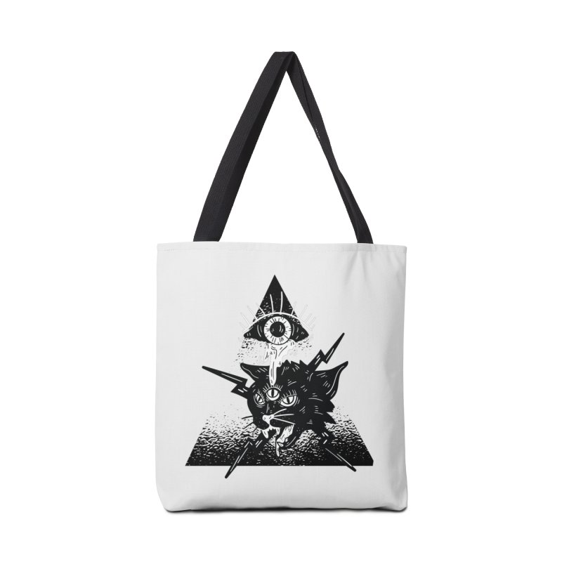 The All Seeing Cat Accessories Bag by Purrform