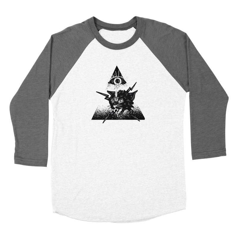 The All Seeing Cat Women's Longsleeve T-Shirt by Purrform