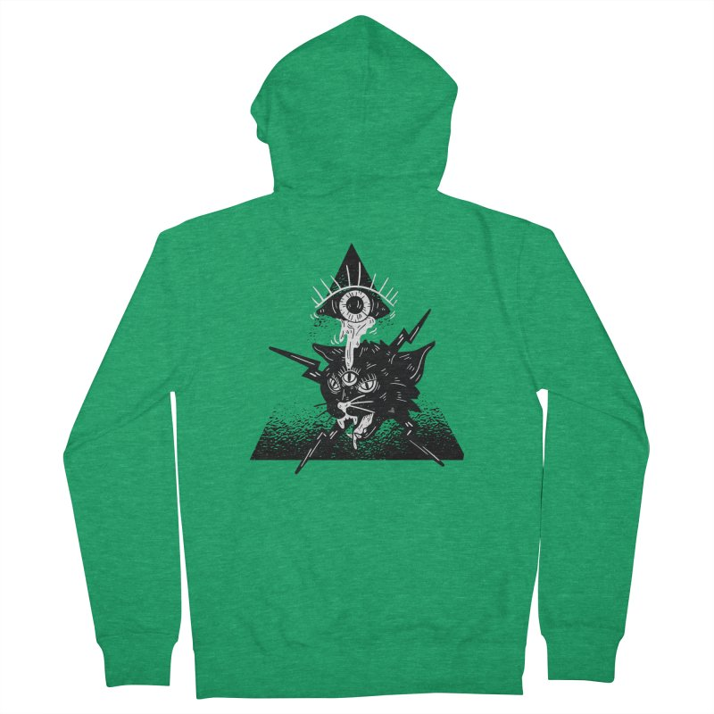 The All Seeing Cat Women's Zip-Up Hoody by Purrform