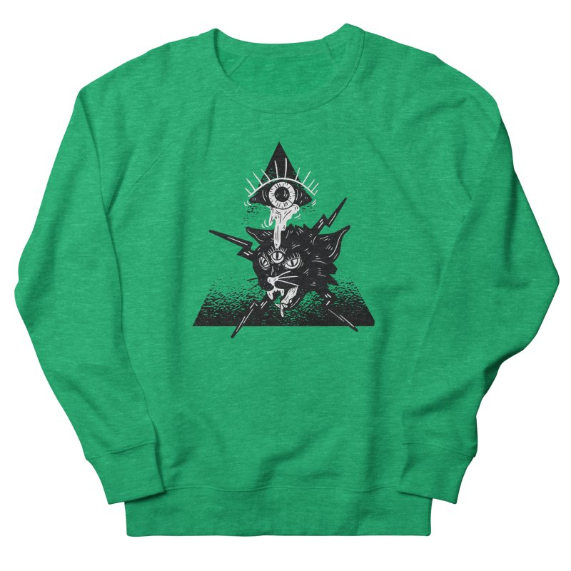 The All Seeing Cat Women's Sweatshirt by Purrform