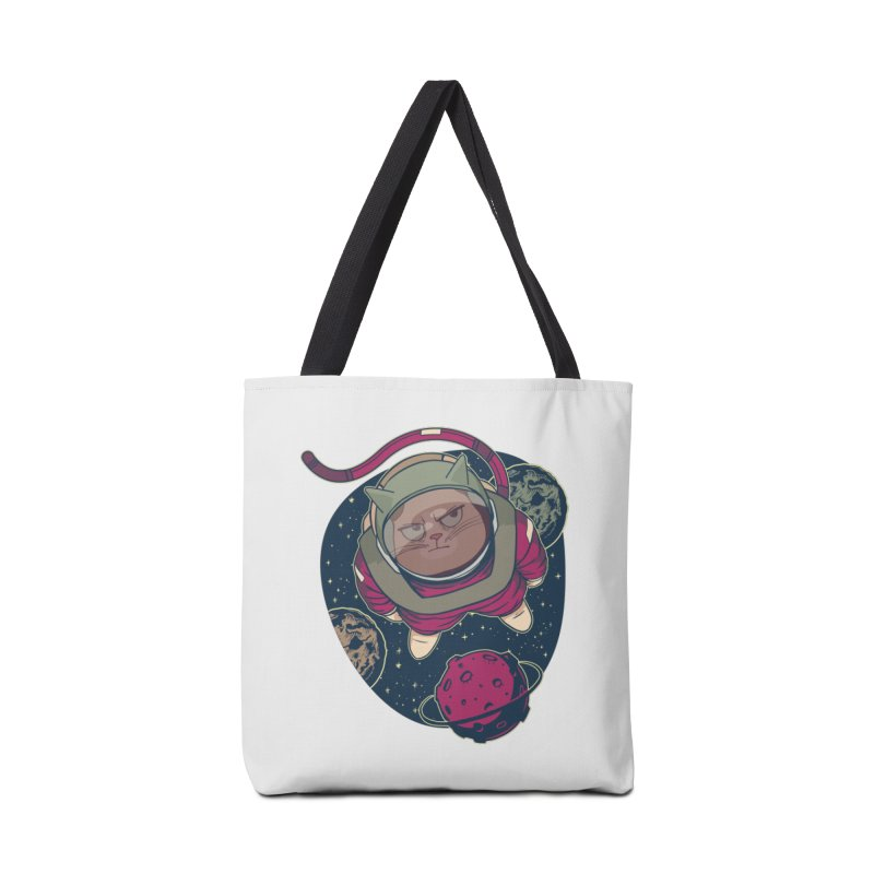 Astronaut Cat Accessories Bag by Purrform