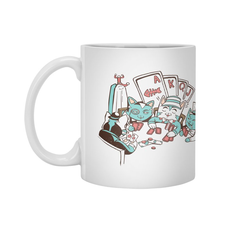 Poker Cats Accessories Mug by Purrform