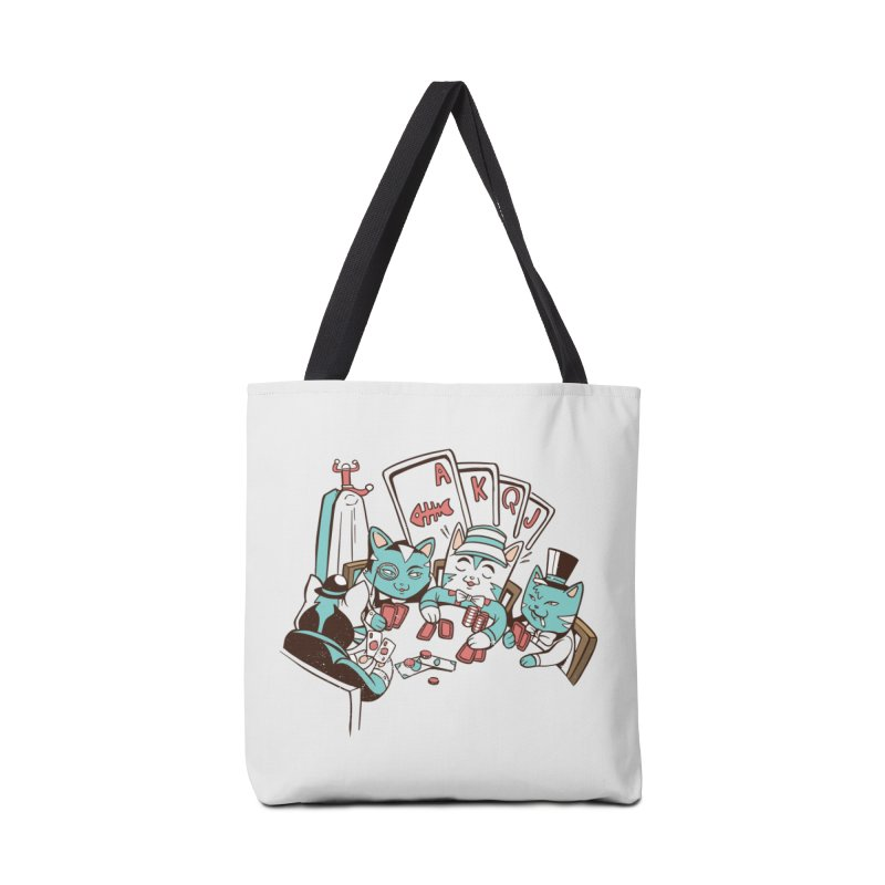 Poker Cats Accessories Bag by Purrform
