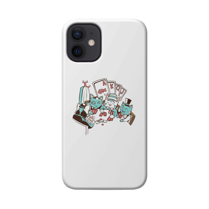 Poker Cats Accessories Phone Case by Purrform