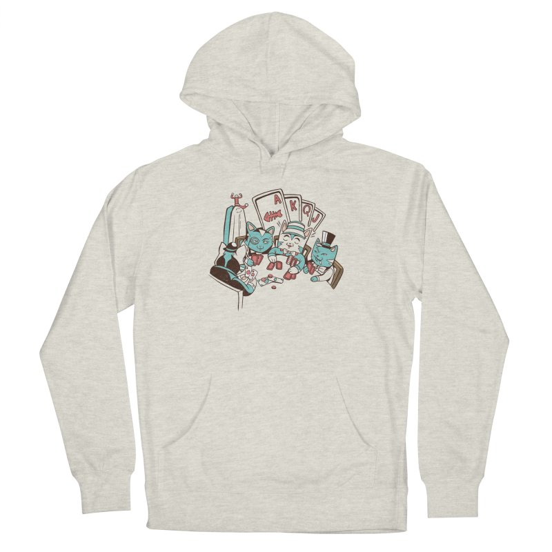 Poker Cats Women's Pullover Hoody by Purrform