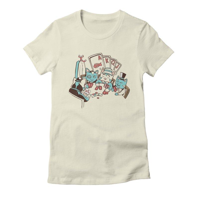 Poker Cats Women's T-Shirt by Purrform
