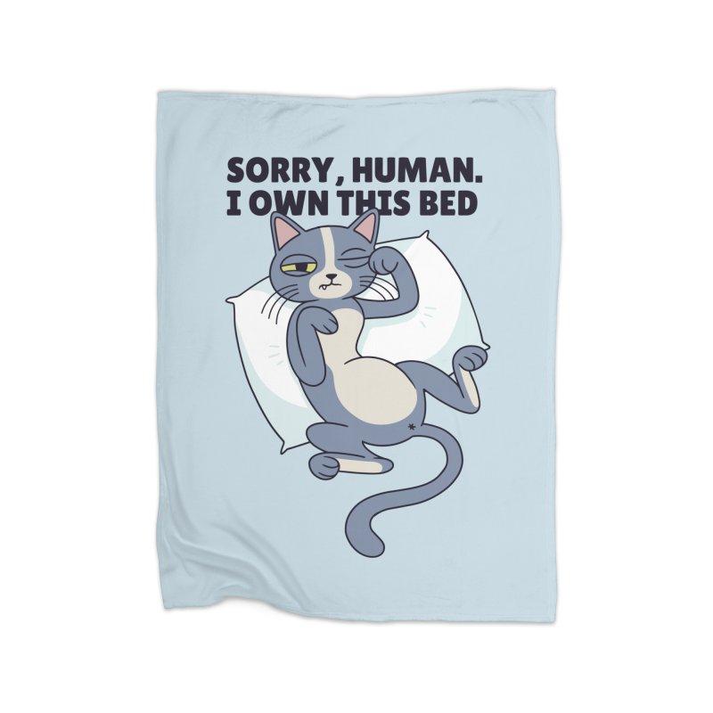 Sleepy Cat Home Blanket by Purrform