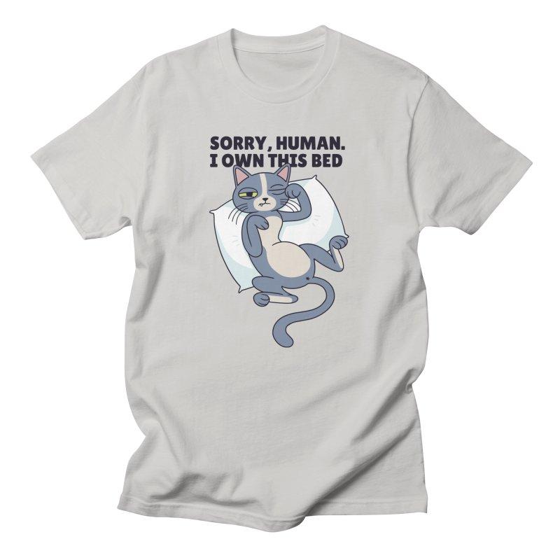 Sleepy Cat Men's T-Shirt by Purrform