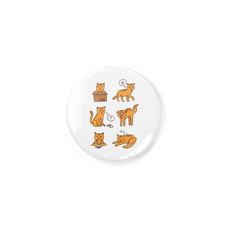 Cat Moods Accessories Button by Purrform