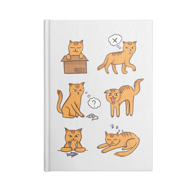 Cat Moods Accessories Notebook by Purrform
