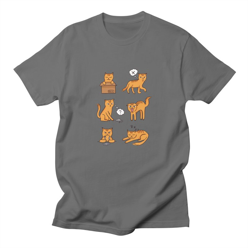 Cat Moods Men's T-Shirt by Purrform