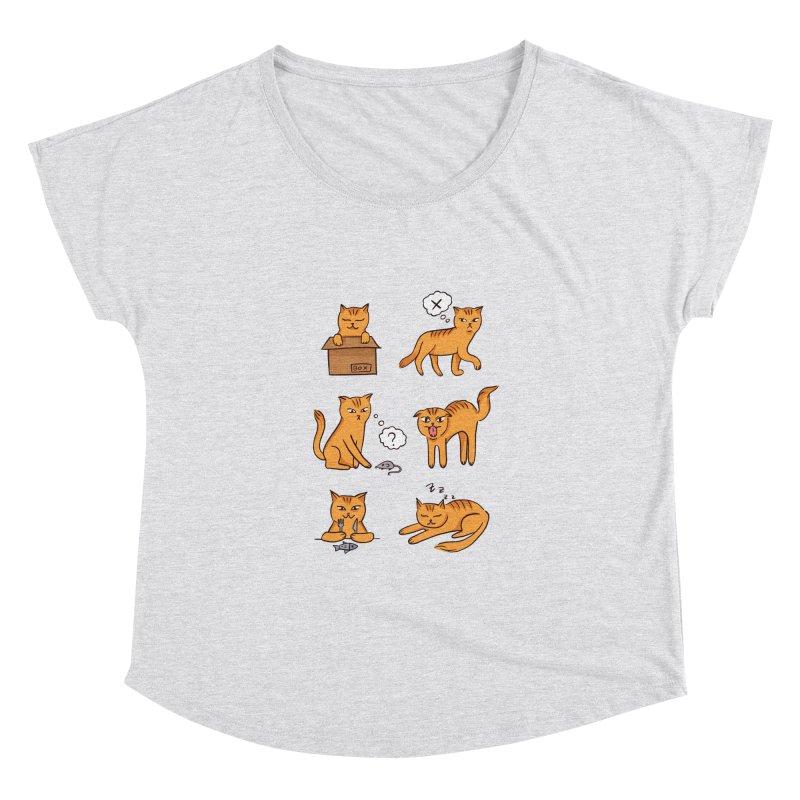 Cat Moods Women's Scoop Neck by Purrform
