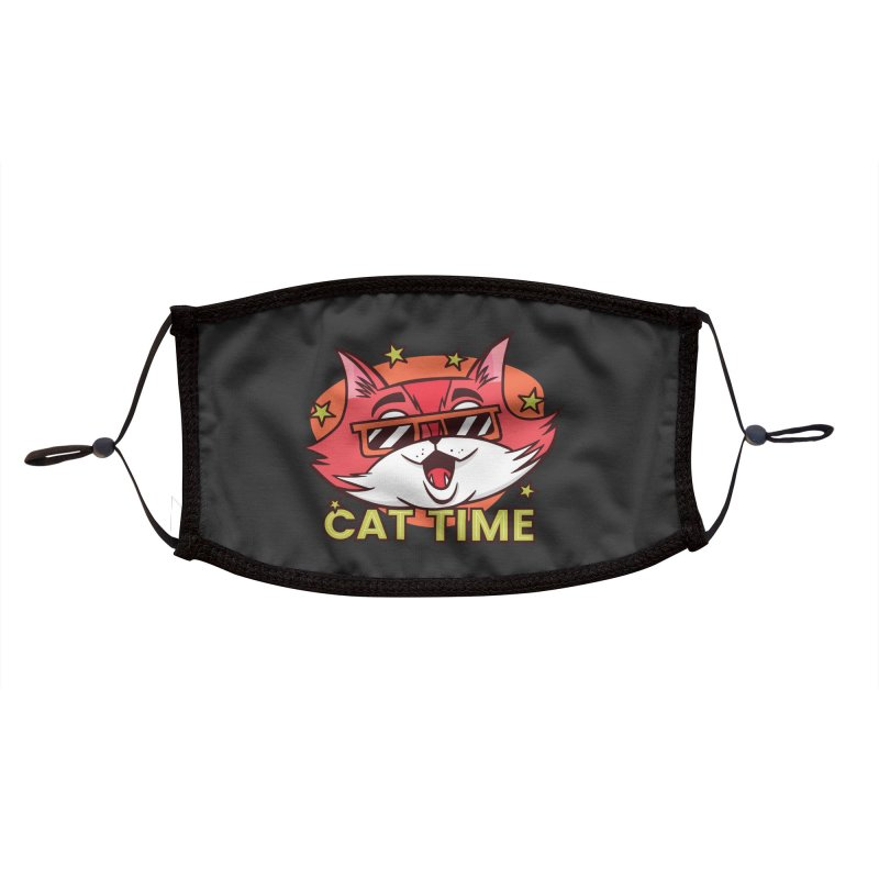 Cat Time Accessories Face Mask by Purrform