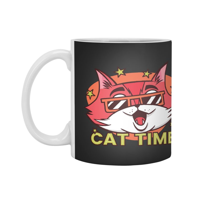 Cat Time Accessories Mug by Purrform