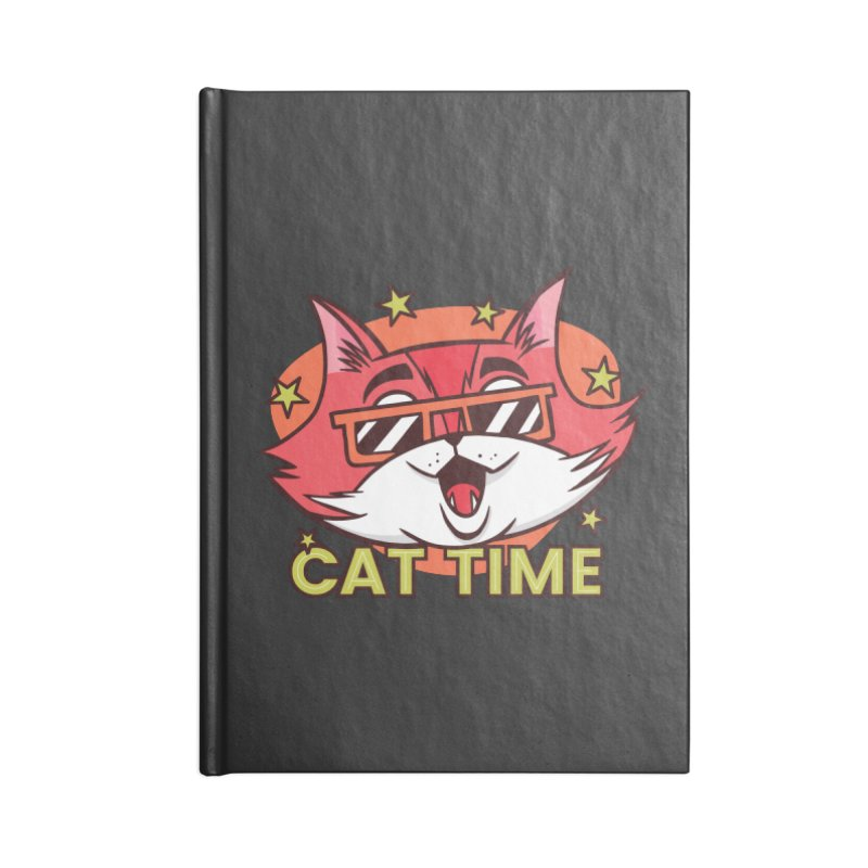 Cat Time Accessories Notebook by Purrform