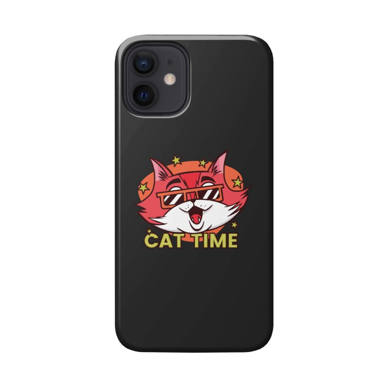 Cat Time Accessories Phone Case by Purrform