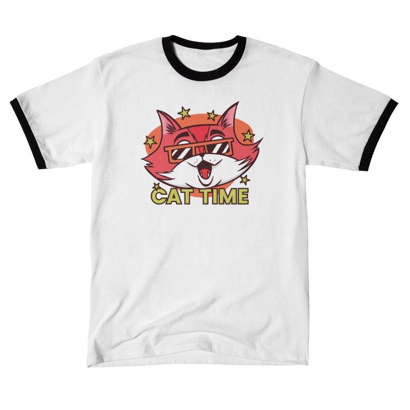 Cat Time Men's T-Shirt by Purrform
