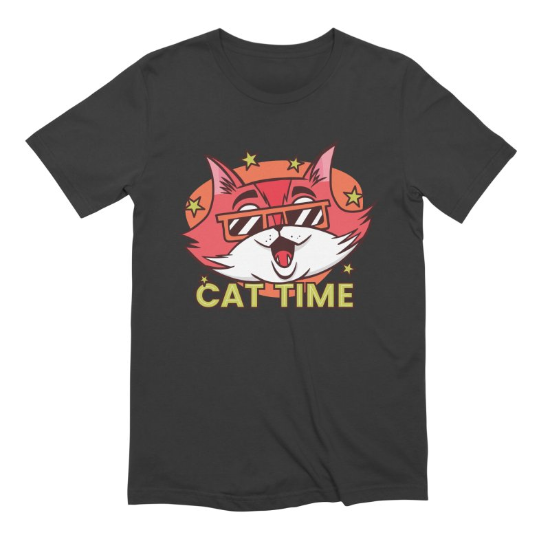 Cat Time Men's T-Shirt by Purrform