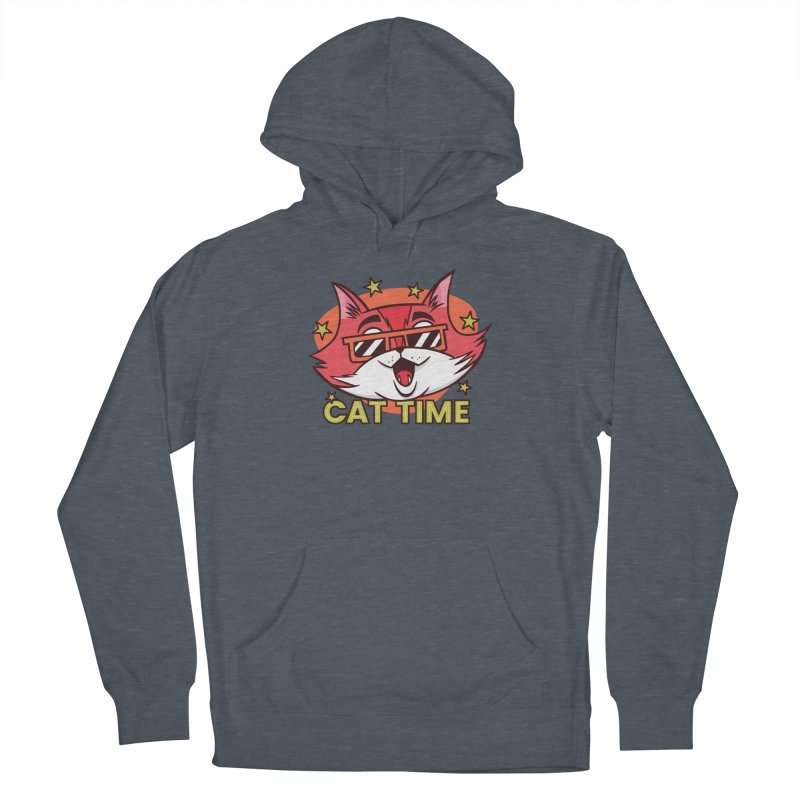 Cat Time Women's Pullover Hoody by Purrform